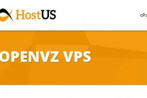 HostUS – VPS Hosting only 128MB $5/year & 256MB $7/year