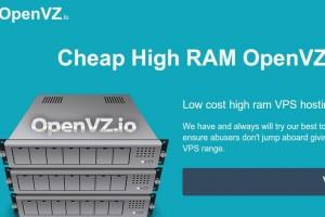 OpenVZ.IO – INIZ New Brand – Cheap High RAM OpenVZ VPS Hosting