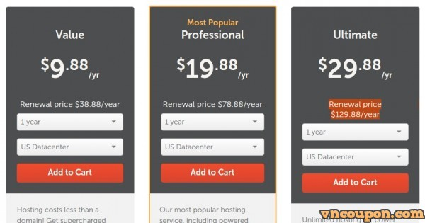 Namecheap – Shared Hosting Promo only $9.88/year