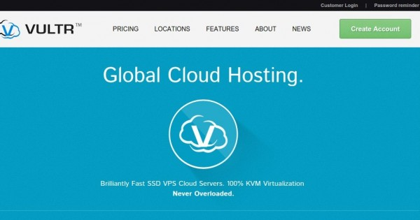Vultr – $15 Gift Code for Cloud VPS