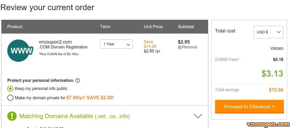 godaddy-295-domain-coupon