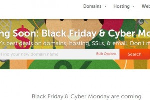 Namecheap – Black Friday 2014 & Cyber Monday Promotion