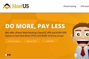 [Christmas 2014] HostUS – $10/year 768MB OpenVZ VPS