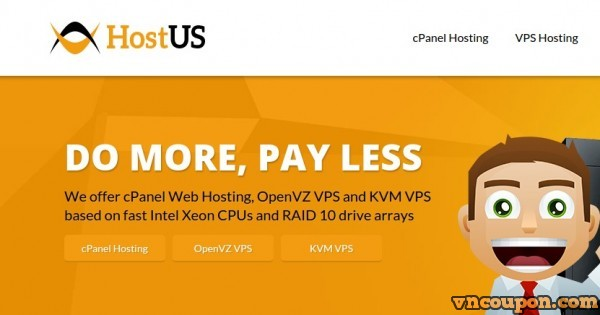 HostUS Special Plans – 768MB $16/year – 2GB $35/year OpenVZ VPS