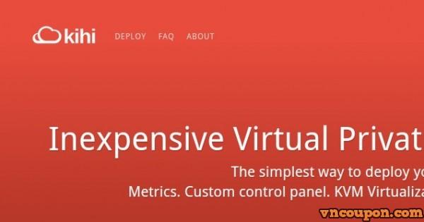 Kihi Hosting – Deploy KVM VPS Hosting from $4/month – Canada Location