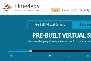 Time4VPS Storage VPS –  from 4.99 EUR for 512GB HDD