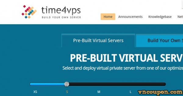 Time4VPS – 512MB RAM OpenVZ VPS only € 9.99/year – EU Location