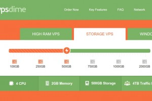 VPSDime – Cheap Storage VPS Hosting up to 2TB storage space