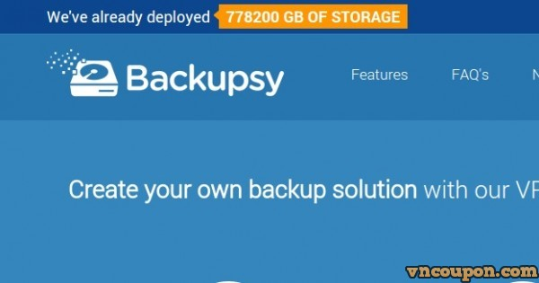 [New Year 2015] Backupsy offer 40% Off For Life – Cheap Storage VPS up to 2TB HDD
