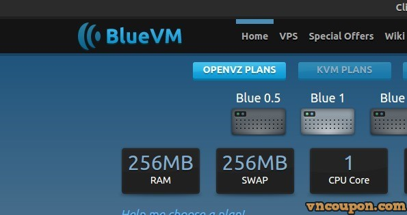 [New Year 2015] BlueVM offering 90% off all of VPS plans