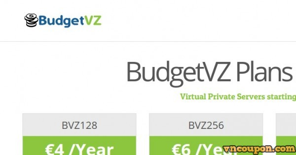 BudgetVZ – OpenVZ Budget VPS From € 4/yr