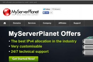 MyServerPlanet – VPS from £2.50/year & UK Dedicated from £8.00/month