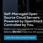 DreamCompute – DreamHost offer 50% Cloud VPS from $5/mo