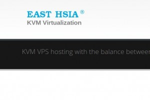 East Hsia KVM VPS – 30% Discount from $4.90 for 1GB RAM