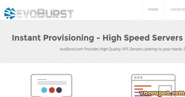 EvoBurst Solutions – 20% OFF Coupon for High Performance VPS