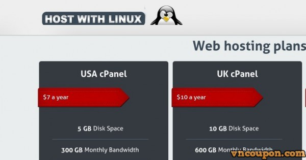 [Out of stock] HostWithLinux – Special VPS Plans – From $15/yr for 1GB RAM