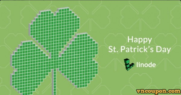 [Happy St. Patrick's Day] Linode – get $17 Free Credit for New Account