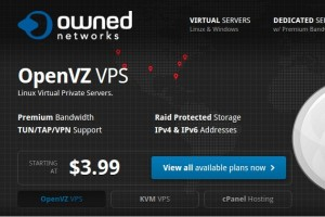 OwnedNetworks – Storage OpenVZ VPS from $13/year