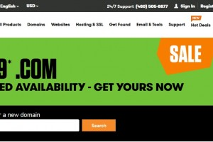 $0.99 .COM coupon Godaddy for US or Canada Account