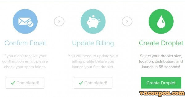 DigitalOcean – Get $40 Free Credit for new account – Only 1 code per account