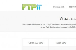 FtpIT – 1 GB RAM VPS Promo, 50% OFF First Month