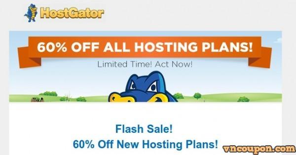 HostGator Flash Sale – 60% Off New Hosting Plans – A Golden Summer Sale