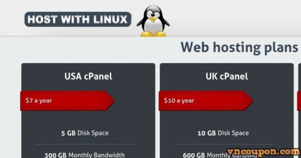HostWithLinux – 1GB RAM OpenVZ Hong Kong VPS from $4/month, 2Gbps Network Port