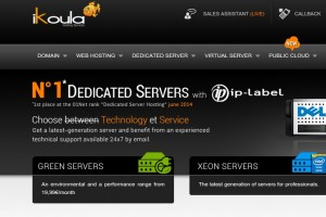 Ikoula Dedicated Server – 8 GB Ram, 500 GB HD only 11,99€/mo,  9,99€ set up fee