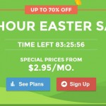 SiteGround – 96 Hour Easter Sale – Up to 70% OFF Web Hosting