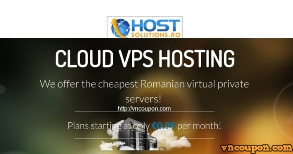 HostSolutions.ro – 2 Core 2GB RAM OpenVZ VPS only €5.97 EUR Quarterly in Romania – Only 19 VPS in stock