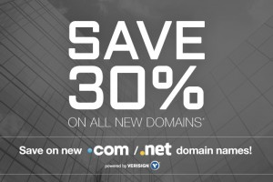 Domain.com – Save 30% OFF for New Domain Registration