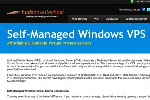 Hudson Valley Host – 45% OFF Windows VPS From $2.75/month – Holiday Sale – Special 3GB RAM Windows VPS only $7.5/month