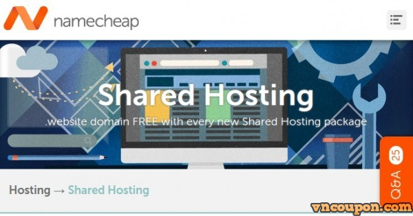 Namecheap – 50% OFF Shared Hosting & Dedicated Server