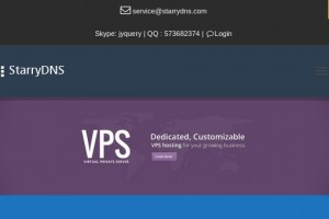 StarryDNS – 46% OFF OpenVZ VPS from $6/month in Hong Kong and Japan