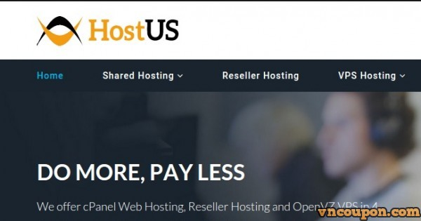 HostUS – Cheap Hong Kong VPS from $25/Year