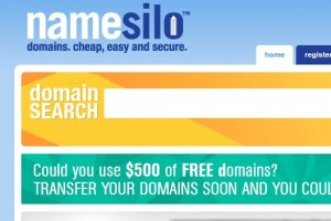 Namesilo HUGE savings on first-year registrations of .site, .online, and .tech from $1.99