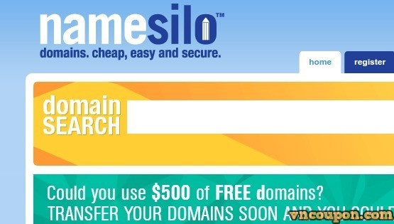 Namesilo Promotions And Coupon Codes for November 2018 – .COM first-year registrations now just $6.99