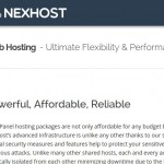 NexHost – cPanel Web Hosting from $1/month with DDoS Protected in Seattle