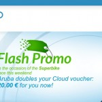ArubaCloud Flash Promo – doubles voucher €20.00 for you now – VMware VPS starting from €1.00/month