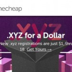 NameCheap – Happy Birthday .xyz! – Domain .xyz registrations only $1 First Year