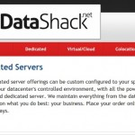 Datashack – cheap Dedicated Servers from $25/month