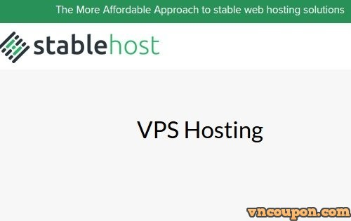 StableHost – 50% Recurring discount for all VPS Hosting Plans