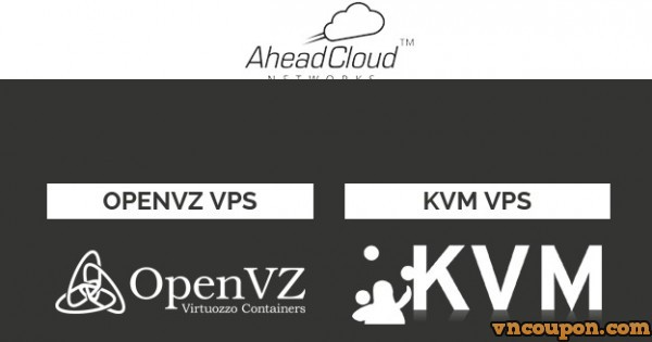 AheadCloud – 4GB RAM KVM VPS – 2 IPv4 – 120 GB HDD – 2TB Bandwidth –  $7/Month