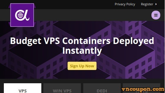 AlphaRacks discount yearly KVM VPS Special from $18/year