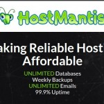 HostMantis – 80% OFF for life Shared Hosting, Reseller Hosting – 50% bonus credit for any deposit on March 2019