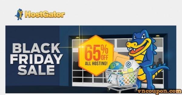 Black Friday & Cyber Monday 2015 –  HostGator 80% OFF for Web Hosting