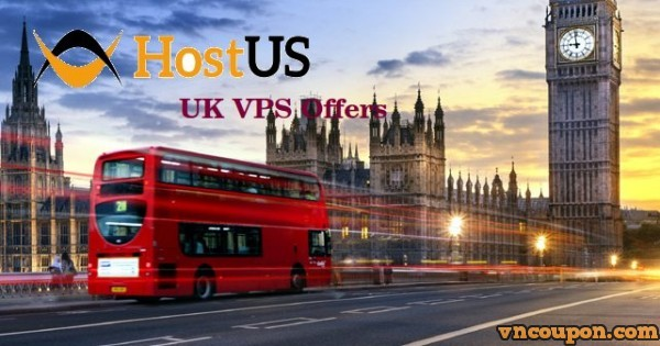 HostUS – 768MB RAM $17/Yr – 2GB RAM $48/Yr UK VPS Special Offers – 10Gbps Network