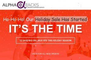 AlphaRacks – Holiday Sale Has Started – VPS starting from $3/Year