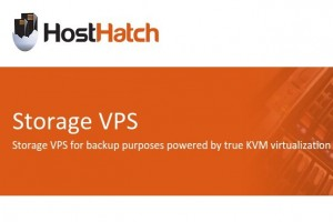HostHatch – Storage KVM VPS in 3 locations from $3/month