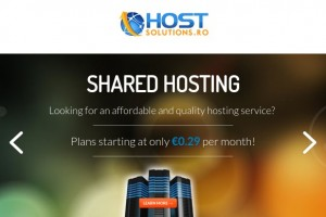 HostSolutions.ro – Cheap Offshore Shared Hosting in Romania from $10/Year – DMCA Free